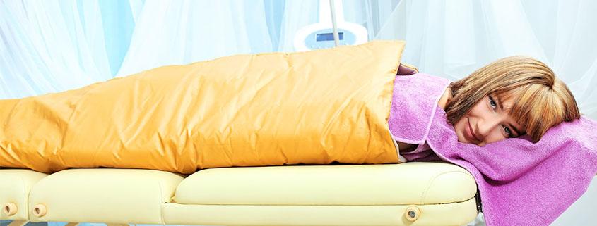 aromaterapija, termodeka, relaksacija, zatezanje kože, poticanje cirkulacije, gubitak masnog tkiva